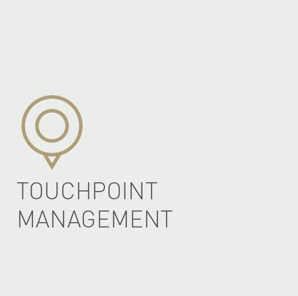 Touchpoint Management Die Gruppe Werbeagentur Digitale B to B Kommunikation - DIE GRUPPE DIGITAL
